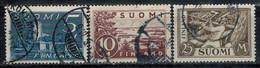 FINNLAND 1930  MiNr: 155 - 157  Used - Gebraucht