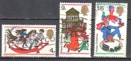 Great Britain 1968 - Mi.493-95 - Used - Oblitérés