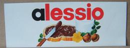 MONDOSORPRESA, ADESIVI NUTELLA NOMI, ALESSIO - Nutella