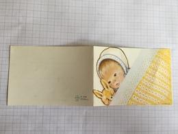 18F - Carte Florence Brassart Blaugies 1967 - Birth & Baptism
