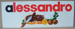 MONDOSORPRESA, ADESIVI NUTELLA NOMI, ALESSANDRO - Nutella