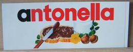 MONDOSORPRESA, ADESIVI NUTELLA NOMI, ANTONELLA - Nutella