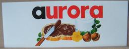 MONDOSORPRESA, ADESIVI NUTELLA NOMI, AURORA - Nutella
