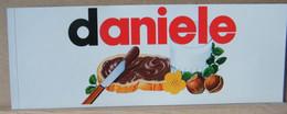 MONDOSORPRESA, ADESIVI NUTELLA NOMI, DANIELE - Nutella