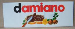 MONDOSORPRESA, ADESIVI NUTELLA NOMI, DAMIANO - Nutella