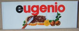 MONDOSORPRESA, ADESIVI NUTELLA NOMI, EUGENIO - Nutella