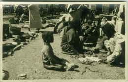 ETHNIC BLACK AFRICA SCENES - SOMALIA - MARKET - RPPC 1920s (3092) - Somalia