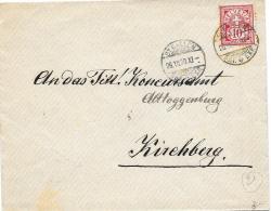 20 - 21 - Enveloppe Envoyée De St Gallen 1900 - 1882-1906 Armoiries, Helvetia Debout & UPU