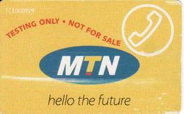 South Africa Test MTN Chip Card R30 - Afrique Du Sud