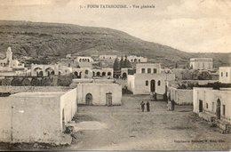 Tunisie. Foum Tatahouine. Vue Générale - Tunisia
