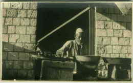 ETHNIC BLACK AFRICA SCENES - SOMALIA - STREET FOOD - RPPC 1920s (3097) - Somalia