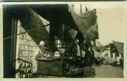 ETHNIC BLACK AFRICA SCENES - SOMALIA - STREET FOOD- RPPC 1920s (3090) - Somalia