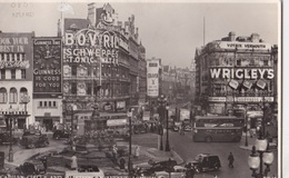 LONDON - PICCADILLY CIRCUS AND SHAFTESBURY AVENUE VG  AUTENTICA 100% - Piccadilly Circus