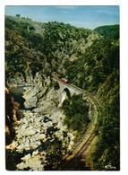 07 Tournon Lamastre Le MASTROU Dans Les Gorges VOIR ZOOM Autorail Billard Voie Ferrée Viaduc - Lamastre