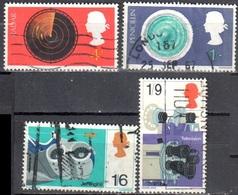 Great Britain 1967 - Mi.470-73 - Used - Oblitérés