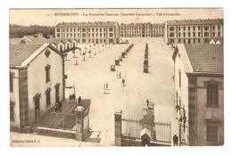 CPA ALGÉRIE HUSSEIN DEY 15 FÉVRIER 1915 LES NOUVELLES CASERNES QUARTIER LEMERCIER - COLLECTION IDÉALE PS - Alger
