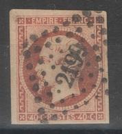 France - YT 16 Oblitéré PC 2199 Mulhouse Haut Rhin TB - 1853-1860 Napoleon III