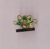 Pin's Roc Plongée (époxy Reprenant La Pieuvre De Tex Avery) - Diving