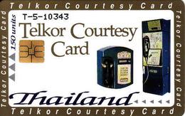 Thailand Telkor Courtesy Test Card, Mint Chip Card - Thaïlande