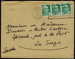 Enveloppe 14,5x11,5cm - Flamme Flier-International De Paris - Marianne De Gandon 3x5F - Marcophilie (Lettres)
