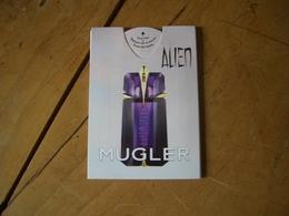 Puffer Mugler Alien - Cartes Parfumées