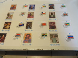 UNITED  NATION  UNICEF  Posten  F D C  -  BELEGE   213  STÜCK - Briefe