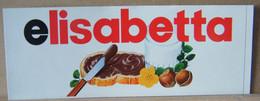 MONDOSORPRESA, ADESIVI NUTELLA NOMI, ELISABETTA - Nutella