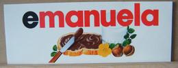 MONDOSORPRESA, ADESIVI NUTELLA NOMI, EMANUELA - Nutella