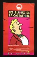 Affiche Les Bijoux De La Castafiore Hergé - Screen Printing & Direct Lithography