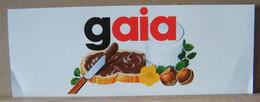MONDOSORPRESA, ADESIVI NUTELLA NOMI, GAIA - Nutella