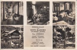 CPA  Suisse, CHAMPERY Pension-Chalet Des Dents Blanches - VS Valais