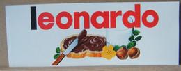 MONDOSORPRESA, ADESIVI NUTELLA NOMI, LEONARDO - Nutella