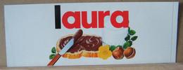 MONDOSORPRESA, ADESIVI NUTELLA NOMI, LAURA - Nutella