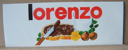 MONDOSORPRESA, ADESIVI NUTELLA NOMI, LORENZO - Nutella