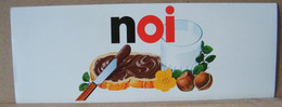 MONDOSORPRESA, ADESIVI NUTELLA NOMI, NOI - Nutella