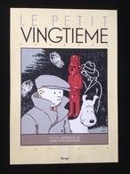"""Affiche """"le Petit Vingtième"""" Hergé - Sérigraphies & Lithographies"""