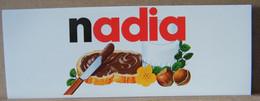 MONDOSORPRESA, ADESIVI NUTELLA NOMI, NADIA - Nutella