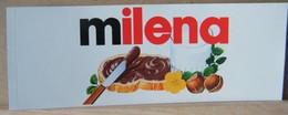 MONDOSORPRESA, ADESIVI NUTELLA NOMI, MILENA - Nutella