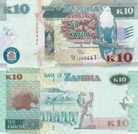 Zambia - 10 Kwacha 2015 UNC Ukr-OP - Sambia