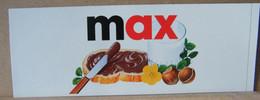 MONDOSORPRESA, ADESIVI NUTELLA NOMI, MAX - Nutella