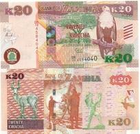 Zambia - 20 Kwacha 2015 UNC Ukr-OP - Zambia
