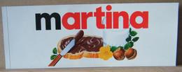 MONDOSORPRESA, ADESIVI NUTELLA NOMI, MARTINA - Nutella