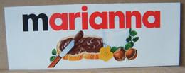 MONDOSORPRESA, ADESIVI NUTELLA NOMI, MARIANNA - Nutella