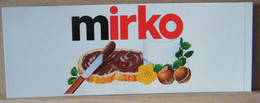 MONDOSORPRESA, ADESIVI NUTELLA NOMI, MIRKO - Nutella