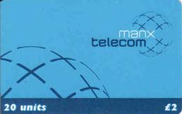 UK Isle Of Man,  Manx Telecom 20 Units, Chip - Ver. Königreich