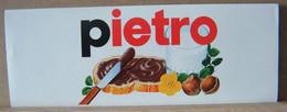 MONDOSORPRESA, ADESIVI NUTELLA NOMI, PIETRO - Nutella