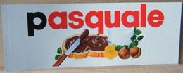 MONDOSORPRESA, ADESIVI NUTELLA NOMI, PASQUALE - Nutella