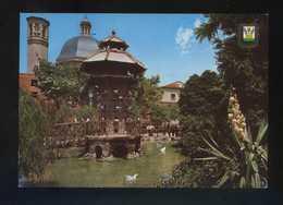 Alicante. Alcoi. *Parque Primo De Rivera* Ed. Fisa Nº 3. Circulada 1967. - Alicante