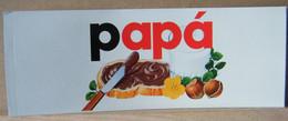 MONDOSORPRESA, ADESIVI NUTELLA NOMI, PAPA' - Nutella