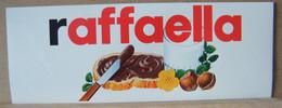 MONDOSORPRESA, ADESIVI NUTELLA NOMI, RAFFAELLA - Nutella